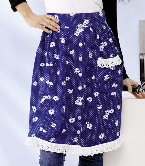 Witzige Sommerkleid-Schürze Nähanleitung - Nähanleitungen bei Makerist sofort runterladen