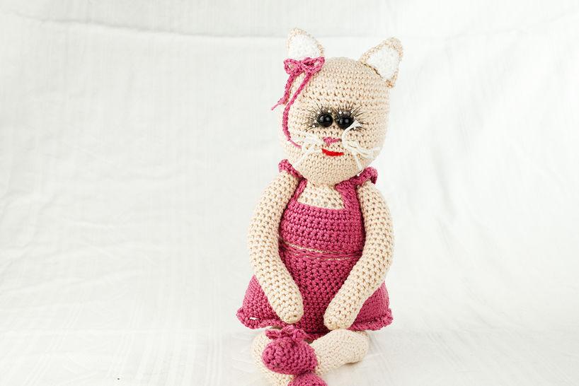 Häkelanleitung: Katze Elly - Häkelanleitungen bei Makerist sofort runterladen