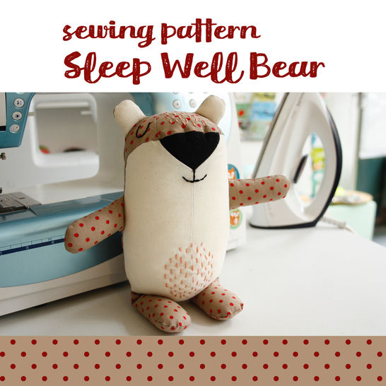 Download Bear plushie, cuddly toy - detailed pattern and sewing instructions - Sewing Patterns immediately at Makerist
