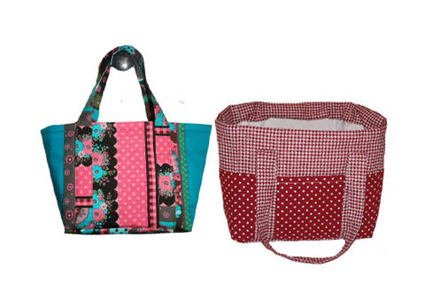 Download ALL IN tote bag  - sewing pattern - 3 sizes immediately at Makerist
