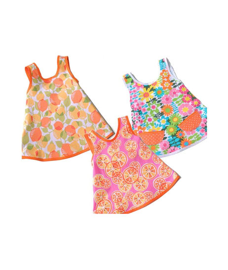 Download Dress Pack Betty, Flora & Amelie - sizes 6mo-5yr - PDF sewing pattern - Sewing Patterns immediately at Makerist