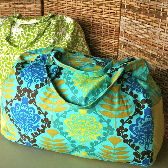 Download Make Your Getaway Duffle Bag Sewing Pattern - Sewing Patterns immediately at Makerist