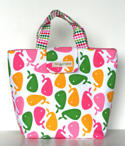 Download Waste Free Lunch Bag Sewing Pattern immediately at Makerist