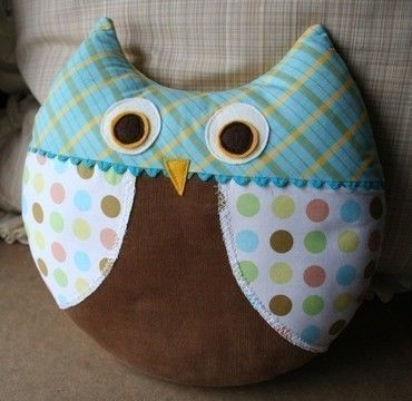 Download Max the Owl & Philomena Fox Pillow PDF sewing pattern - Sewing Patterns immediately at Makerist