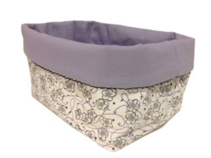 Download BABSI square basket - 4 sizes - PDF sewing pattern - Sewing Patterns immediately at Makerist