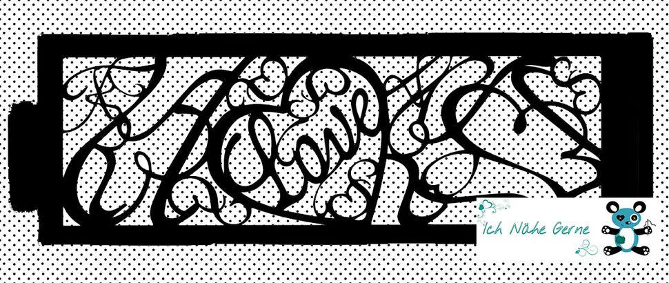 Plotterdatei Love Kerzenhülle / Karte - Plotterdateien bei Makerist sofort runterladen