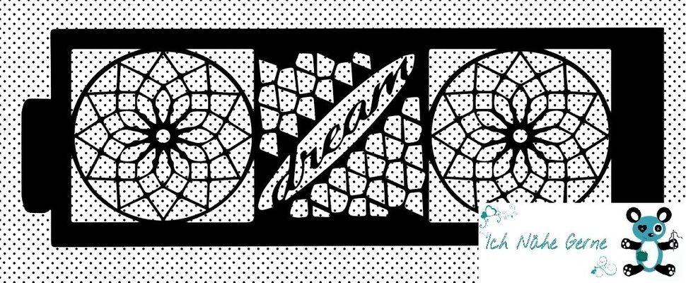 Plotterdatei Dream Kerzenhülle / Karte - Plotterdateien bei Makerist sofort runterladen