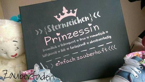 """Plotterdatei """"Sternzeichen Prinzessin"""" - DXF, PNG, SVG bei Makerist sofort runterladen"""