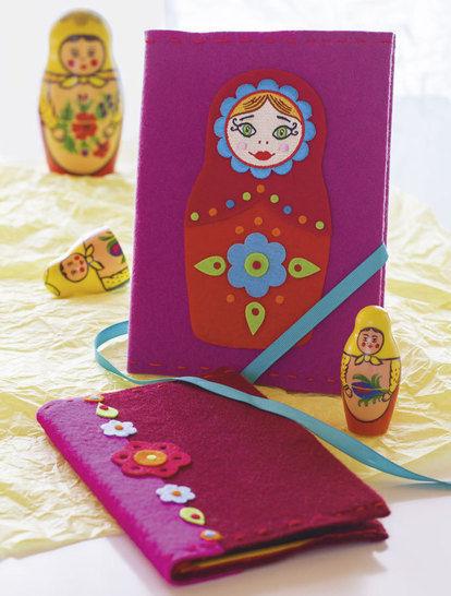 Einband für Lieblingsbücher Nähanleitung mit Schnittmuster - Nähanleitungen bei Makerist sofort runterladen