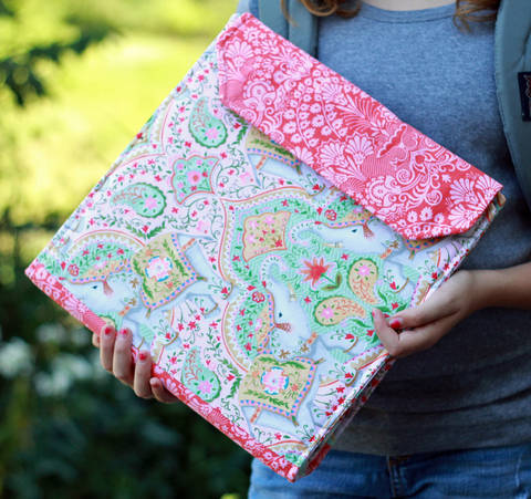 Download Notebook Cover PDF Sewing Pattern immediately at Makerist