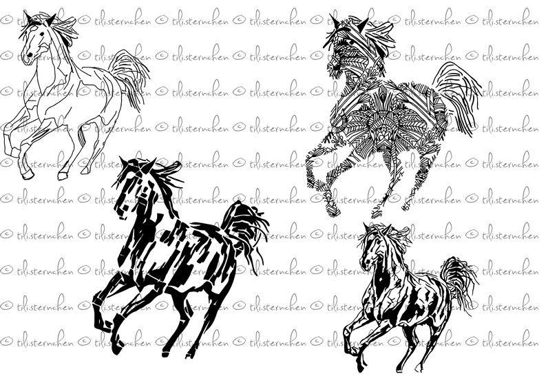 Plotterdatei > Horse < Plottermotiv - Plotterdateien bei Makerist sofort runterladen