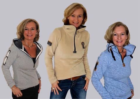 BeeMyChoice No.3 Shirt + RV Kapuze BMC3 + Shirt Kapuze und Kragen mit rundumlaufenden Reißverschluss bei Makerist sofort runterladen