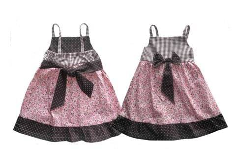 Download ALINA bow dress - PDF sewing pattern - International size: 6 mo-4/5 yr immediately at Makerist