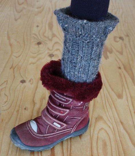 Bariel – Stiefel Stulpen für Mädchen - Anfänger - Strickanleitung - Strickanleitungen bei Makerist sofort runterladen