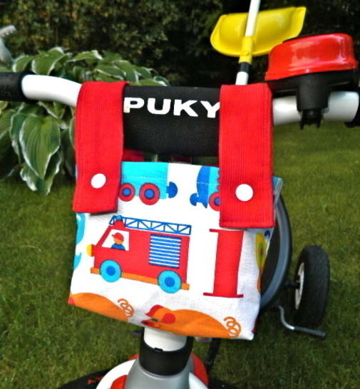 Download Bike bag - handlebar bag - for kids - Sewing Patterns immediately at Makerist