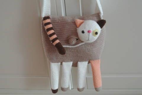 Tasche Katze bei Makerist sofort runterladen