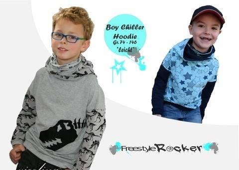 Hoodie * Boy Chiller * Schnittmuster + bebilderte Nähanleitung bei Makerist sofort runterladen