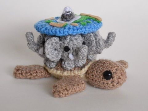 Amigurumi World Free Download : Crochet diskworld a tuin amigurumi