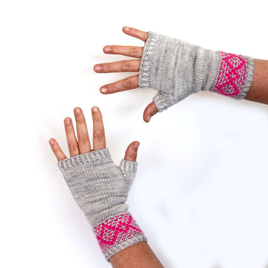 Download Shine On MItts - Knitting Patterns immediately at Makerist