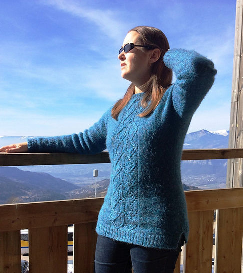 Download Zulfiqar - sweater for girls and women - Knitting Patterns immediately at Makerist