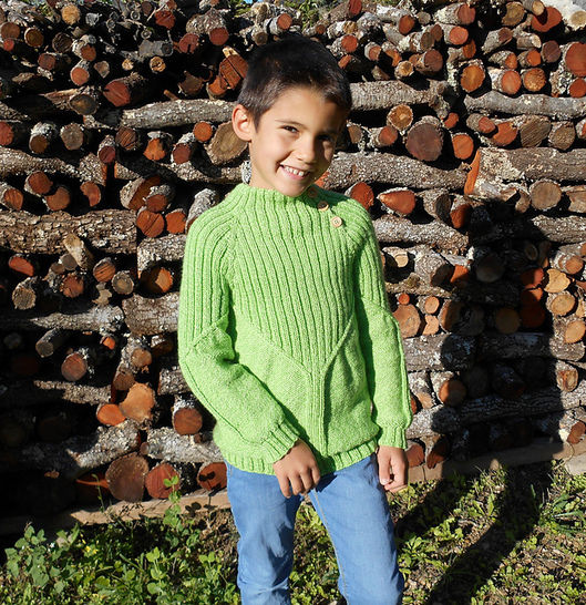 Download Gilben - sweater for children - Knitting Patterns immediately at Makerist