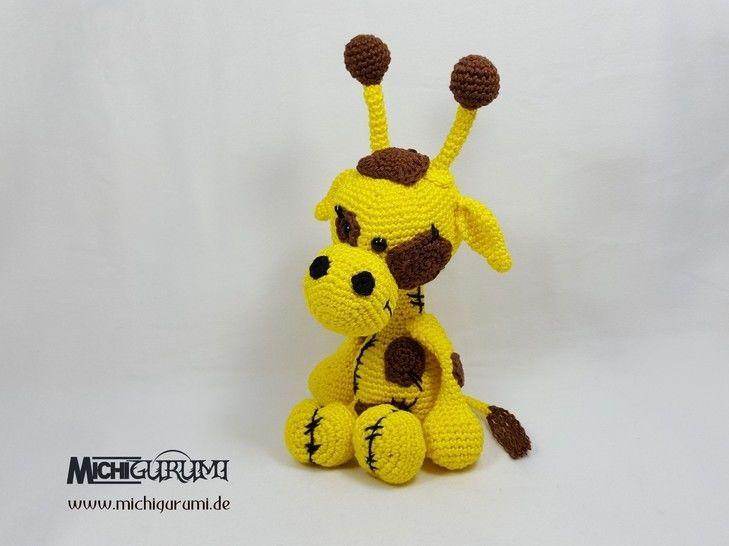 Häkelanleitung: Giraffe Siana (gehäkelte Version) - Häkelanleitungen bei Makerist sofort runterladen