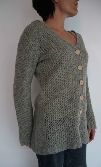 Download Softness cardigan pattern - Knitting Patterns immediately at Makerist