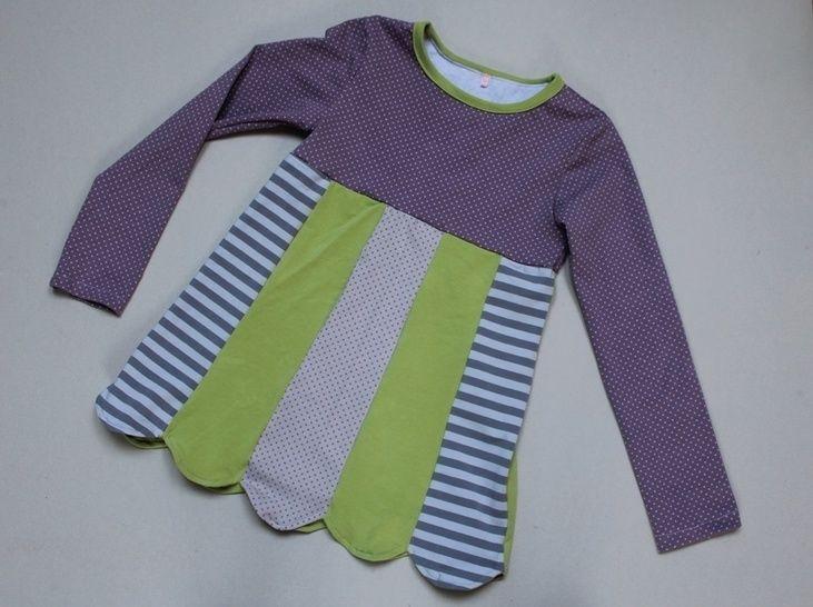 HENRIKE Mädchenshirt - Nähanleitungen bei Makerist sofort runterladen