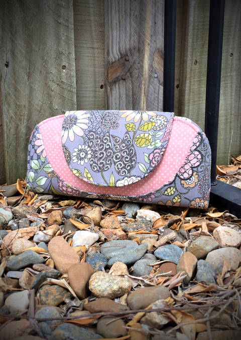 Download Cleo Everyday Wallet - Wallet/Purse Sewing Pattern immediately at Makerist