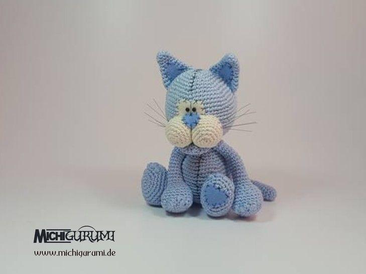 Häkelanleitung: Katze Tian  - Häkelanleitungen bei Makerist sofort runterladen