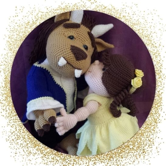 Download Beauty And The Beast - Crochet Patterns immediately at Makerist