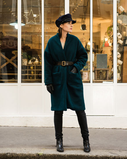 Download RIGA coat - sewing pattern with detailed instructions - Sewing Patterns immediately at Makerist