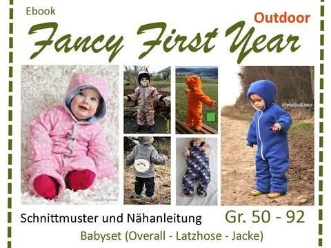 Ebook FancyFirstYear - Outdoor-Schnitte Babykleidung bei Makerist sofort runterladen