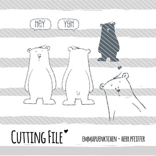 Download emmapuenktchen ® cutting file - herr pfeiffer - Cutting Files immediately at Makerist