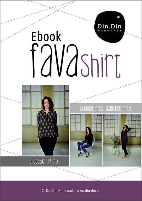 Ebook Fava - Damenoberteil Shirt Longshirt bei Makerist sofort runterladen