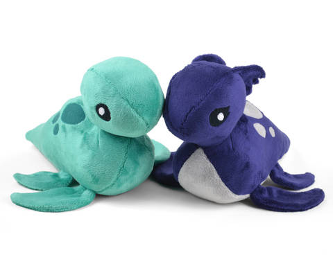 Download Loch Ness Monster Nessie Plush Toy Sewing Pattern immediately at Makerist