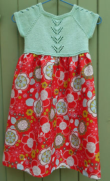 Download Glenettes - dress for girls - Knitting Patterns immediately at Makerist