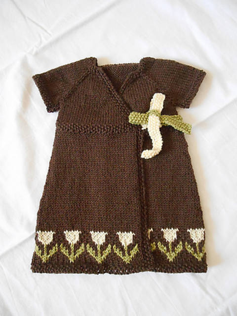 Download Tulipan - baby dress immediately at Makerist