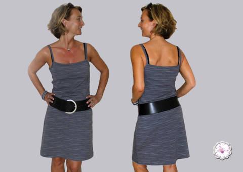 BeeSummer No.2 - Top/Kleid Spagettiträger Gr. 32 - 46 bei Makerist sofort runterladen