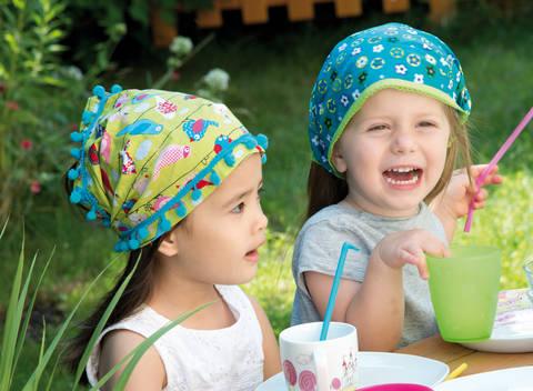 Extrabreite Stirnbänder Nähanleitung bei Makerist sofort runterladen