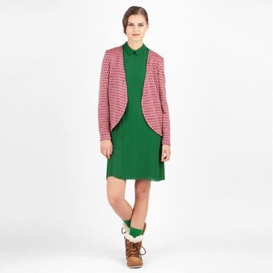 Télécharger Veste Lola - Patron de couture et tutoriel en Français/Anglais/Allemand - Patrons de couture tout de suite sur Makerist