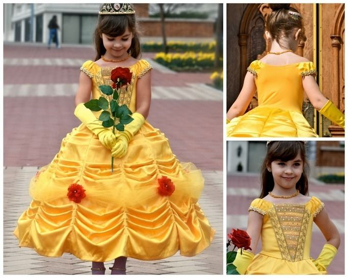 Download GIRLS DRESS SEWING PATTERN - PRINCESS COSTUME - FLOWER GIRL DRESS - PDF SEWING PATTERN  - Sewing Patterns immediately at Makerist