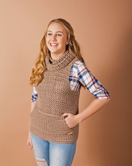 Download Calquato Vest - Crochet Patterns immediately at Makerist