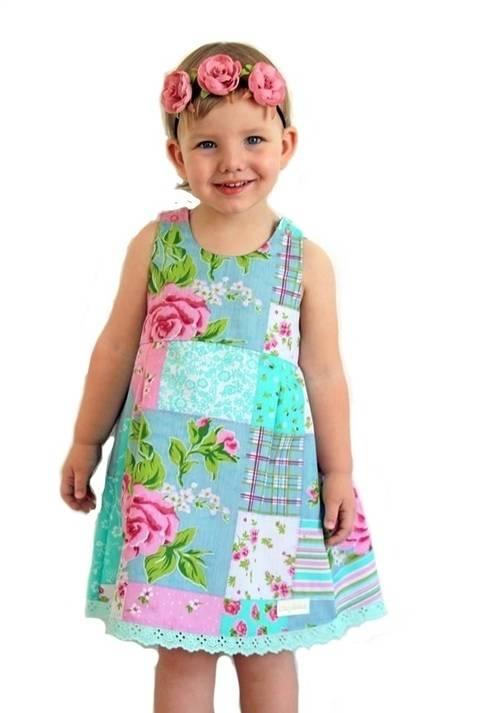 "Kleid / Tunika ""Lina"" Nähanleitung und Schnittmuster bei Makerist sofort runterladen"
