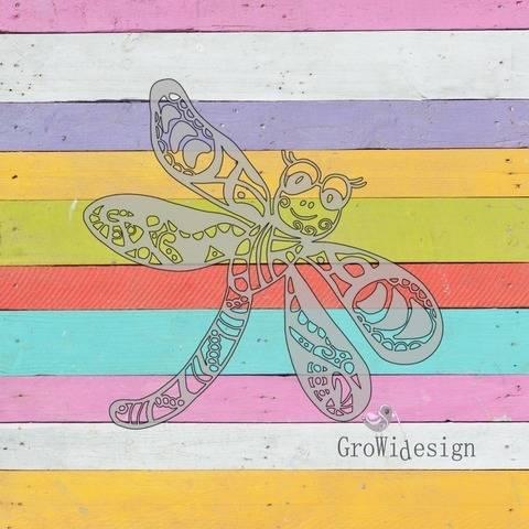 Plotterdatei Libelle bei Makerist sofort runterladen
