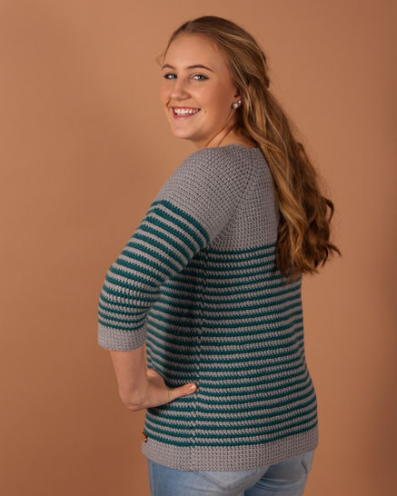 Download Millburn Pullover - Crochet Patterns immediately at Makerist