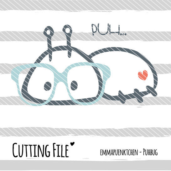 Download emmapuenktchen ® cutting file - puhbug - Cutting Files immediately at Makerist