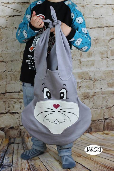 Nähanleitung Tasche BunnyBag inklusive Plottdateien bei Makerist sofort runterladen