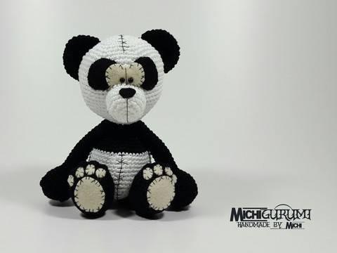 Häkelanleitung: Panda Anouk bei Makerist sofort runterladen