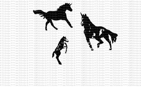 Plotterdatei ° Pferde ° Plottermotiv bei Makerist sofort runterladen